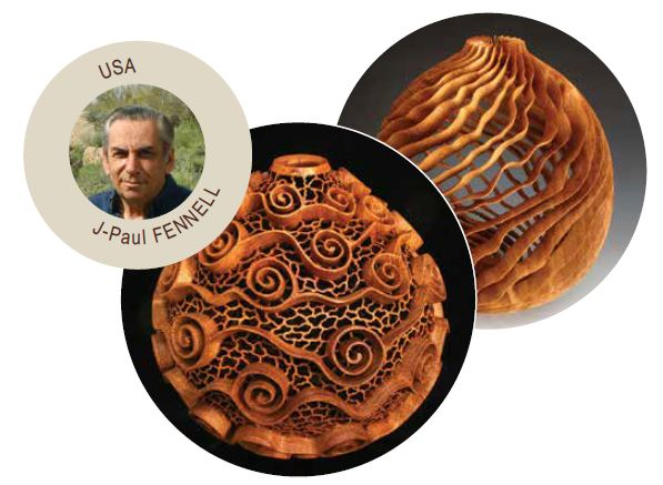 JP Fennell woodturning